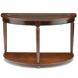 Furniture of America Chrinus Console Table in Dark Cherry