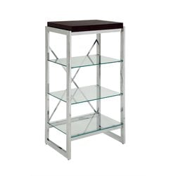 Ruptin 4 Shelves Metal Bookcase