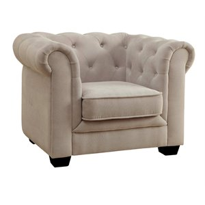 Chester Tufted Upholstered Chair