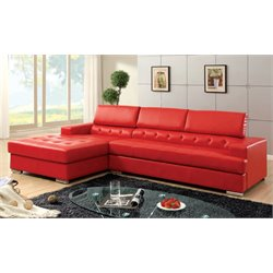 Contreras 2 Piece Leather Sectional 2