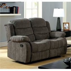 Enrique Fabric Reclining Loveseat