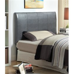 Furniture of America Mevea Twin Panel Headboard in Gray