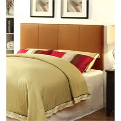 Furniture of America Ramone Full Queen Panel Headboard in Camel