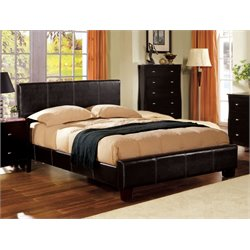 Furniture of America Sentrium Full Upholstered Platform Bed