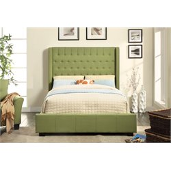Elm Upholstered Platform Bed 2