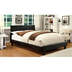 Furniture of America Charlie Queen Platform Panel Bed in Espresso