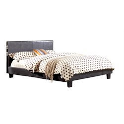 Furniture of America Charlie Queen Platform Panel Bed in Gray