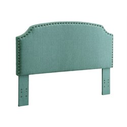 Furniture of America Davos Full Queen Upholstered Headboard