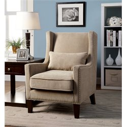 Franklin Wingback Accent Chair