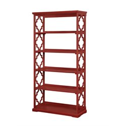 Vera Contemporary 5 Shelf Bookcase