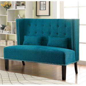 Gwen Tufted Fabric Bench