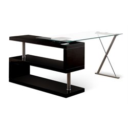 Fiora Modern Swivel Computer Desk