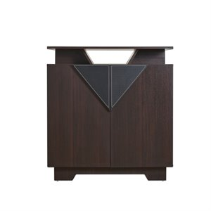 Furniture of America Hector Modern Shoe Cabinet in Espresso