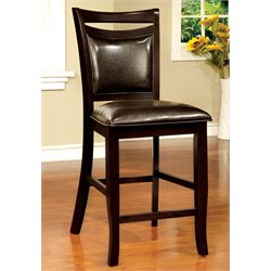 Furniture of America Arriane Dining Chair in Espresso (Set of 2)
