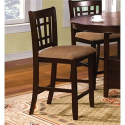 Furniture of America Koline Dining Chair in Espresso (Set of 2)