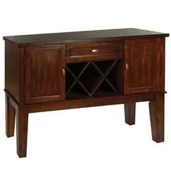 Furniture of America Braddy Buffet in Antique Oak