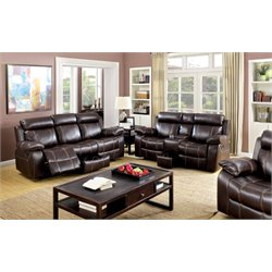 Dacosta Sofa Set in Brown