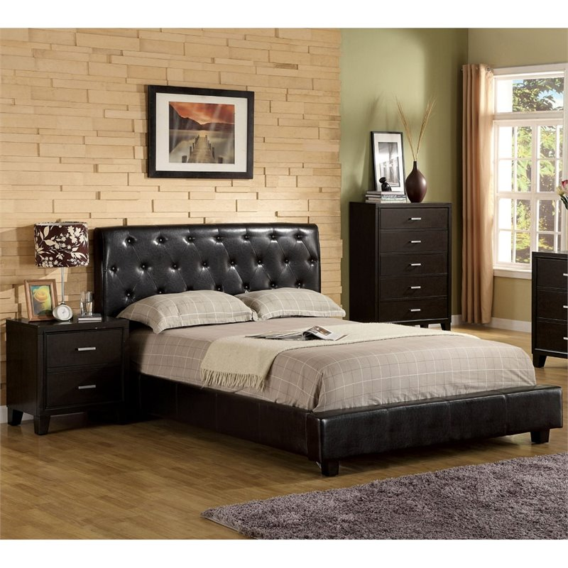 Furniture Of America Naylor 3 Piece King Bedroom Set In