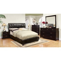 Furniture of America Junnie 4 Piece California King Bedroom Set