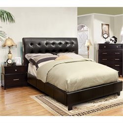 Junnie 2 Piece Bedroom Set in Espresso