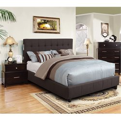 Janata 2 Piece Bedroom Set in Gray