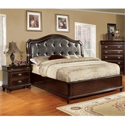 Furniture of America Semptus 2 Piece California King Bedroom Set