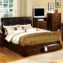Errington Bed in Espresso