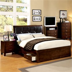 Furniture of America Awenton 2 Piece California King Bedroom Set