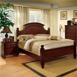 Furniture of America Dryton 2 Piece California King Bedroom Set