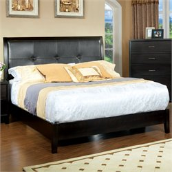 Furniture of America Muscett Platform California King Bed in Espresso