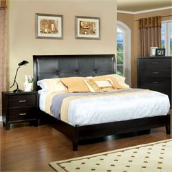 Furniture of America Muscett 2 Piece California King Bedroom Set