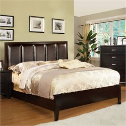 Furniture of America Cruzina Upholstered California King Bed