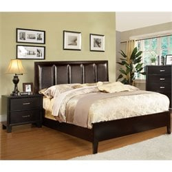 Cruzina 2 Piece Bedroom Set in Espresso