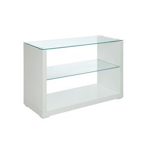 Delilah Gloss Console Table