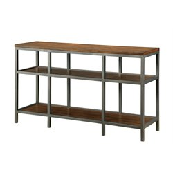 Furniture of America Veronica Console Table in Dark Oak