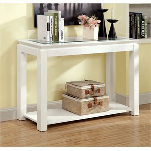 Kristof Gloss Console Table