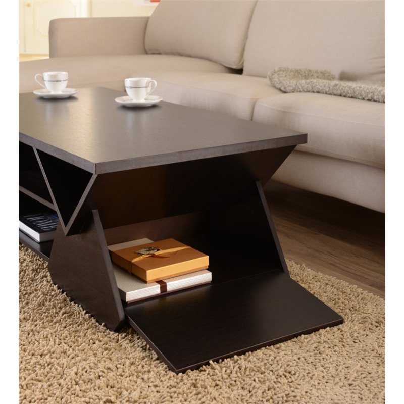 Delicieux Furniture Of America Annabelle Coffee Table In Espresso