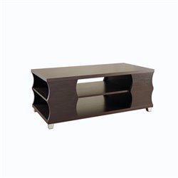 Furniture of America Perla Coffee Table in Espresso