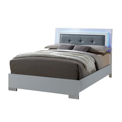 Angie LED Platform Bed