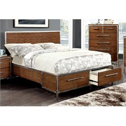 Jackensen Storage Panel Bed