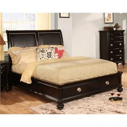 Helene Storage Platform Bed