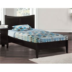 Furniture of America Herndon Twin Panel Bed in Espresso