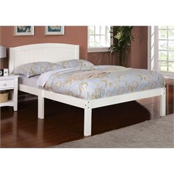 Furniture of America Addison Full Platform Bed in White