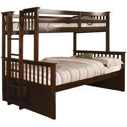 Frederick Twin over Queen Bunk Bed with Trundle