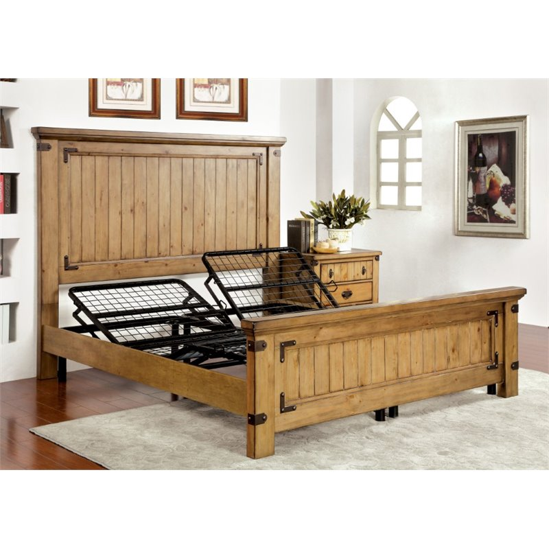 adjule height bed frame from sears for the s