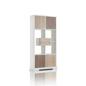 Furniture of America Erin Modern Bookcase in White