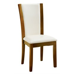 Furniture of America Hartstock Dining Chair in White (Set of 2)