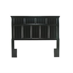 Furniture of America Jayleen Full Queen Panel Headboard in Black