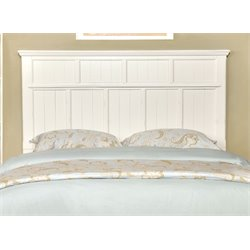 Furniture of America Jayleen Full Queen Panel Headboard in White