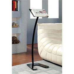 Furniture of America Welsh Modern Metal Bookstand in Black